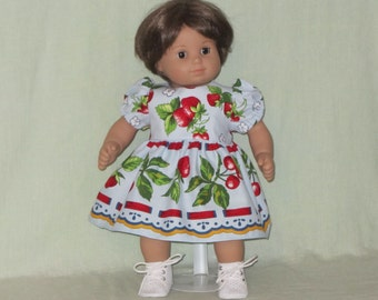American Girl Bitty Baby Doll Dress Strawberrys