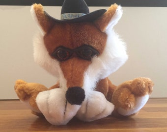Coyote Western Texas Ft. Worth Lewd Plush Stuffed Animal with HANDCRAFTED GRAPHIC VAGINA mature dirty santa gag gift