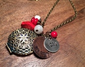 NCSU Wolfpack Locket Necklace