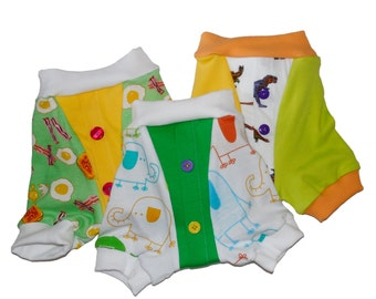 Wee Beginner Button Boxer Brief 3-PAK potty training underwear