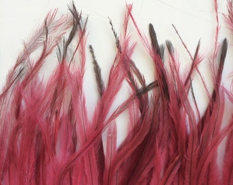 EMU  FEATHERS , Vintage Pink  /  686.A