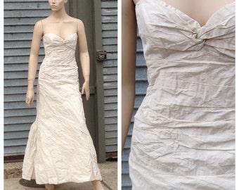 Corpse bride style wedding dress