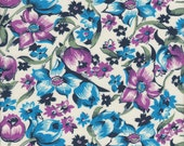 Free Spirit Fabrics Denyse Schmidt Shelburne Falls Dress Floral in Lilac - Half Yard