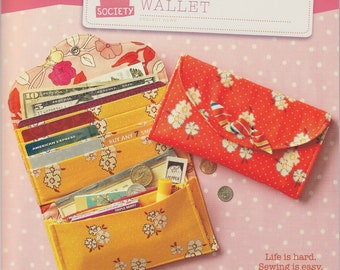 Straight Stitch Society Have It All Wallet Pattern