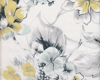 Dear Stella Designs Paloma Floral in Mist - Half Yard