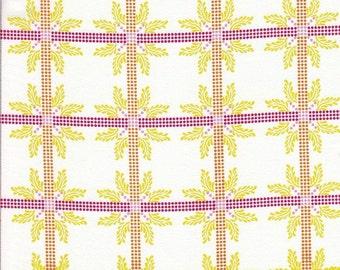 SALE - Free Spirit Fabrics Anna Maria Horner Little Folks VOILE Four Square in Sweet - Half Yard