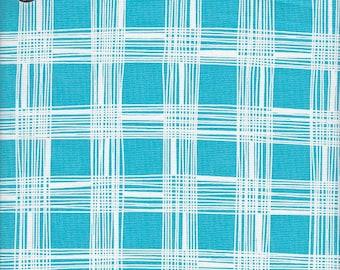 Free Spirit Fabrics Erin McMorris Astrid Pica in Aquamarine - Half Yard