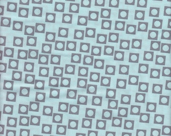 Moda Fabrics Sherbet Pips Circle in Square in Cotton Candy and Scooter Grey - Half Yard