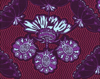 Free Spirit Fabrics Anna Maria Horner Field Study Specimen in Royal - Half Yard