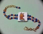 The Doo Dawg Bracelet for Cartoon lovers Fashion Bracelet for Every Day Wear boho modern cottage chic fantasy cartoon gift