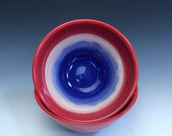 Patriotic Cereal Bowl