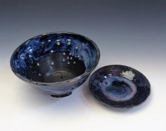Galaxy Blue  Berry Bowl