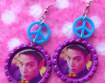 Sexy BIGBANG TOP Kpop Bae Bae Earrings