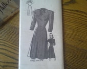 Vintage Classic Anne Adams Original Dress Pattern, #4952