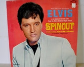 Vintage Elvis album- SPINOUT - In The Original Soundtrack Album...RCA Victor / Metro Goldwyn Mayer Movie