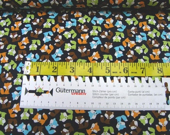 Robert Kaufman • Urban Zoologie mini • Fox bermuda • Cotton Fabric 002285