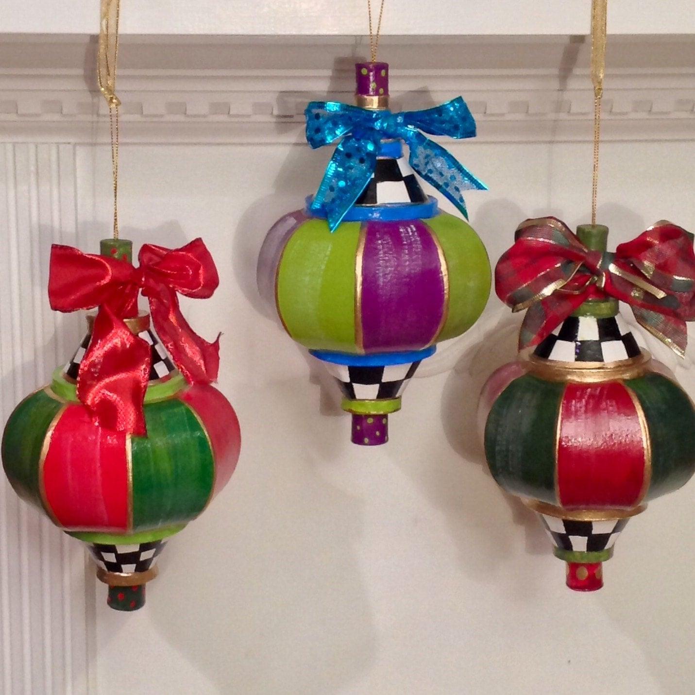 Large Christmas Tree Ornament // Christmas Tree Ornament//