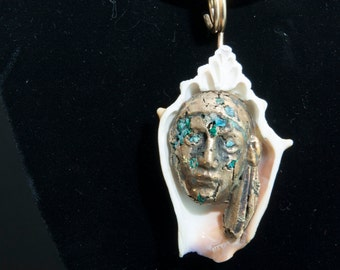 Tribal Tribute in Bronze and Turquoise