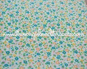 Sweet Dotted Swiss  - Vintage Fabric Sewing Doll Making New Old Stock Yellow