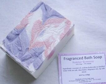 Summer Romance Briney Coconut Butter Bath Soap