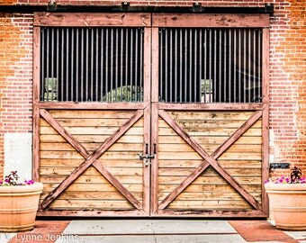 Livery Stable - Giclee' Print on Watercolor Paper