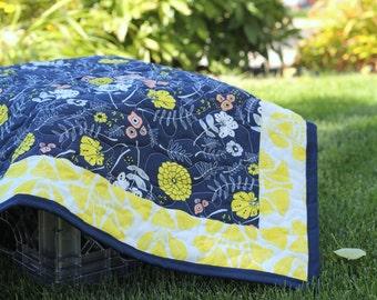 Photo Prop Quilt Blanket for Newborn Baby Toddler, Custom Made