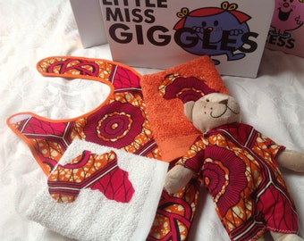 Little Miss Giggles Gift baby shower baptism naming ceremony case medium box