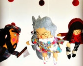 Little Red Riding Hood Nursery Mobile // A Storybook Mobile Sure to Delight