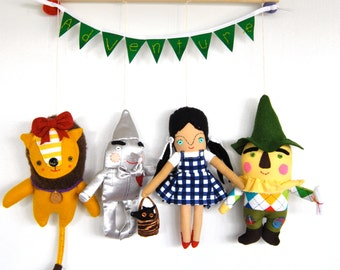 The Wizard of Oz Wall Hanging // Whimsical, Magical and Unique Children's Decor