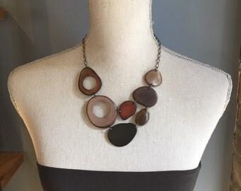 Shades of brown gray black