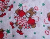 Christmas Angel Cotton fabric Bears