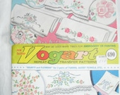 Vogart Vintage Hot Iron Transfers Embroidery