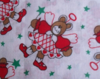 Angel Cotton fabric Bears
