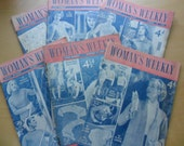 Woman's Weekly Magazines - 1950s