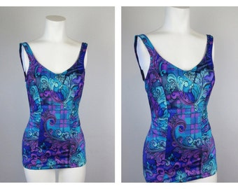 Vintage 60s Swimsuit, Christina, Sz 14