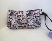 Zombie Clutch - Zombies Bag - Zombies Wristlet