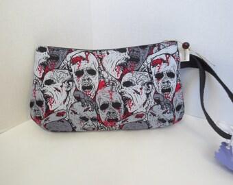 Zombie Clutch - Zombies Bag - Zombies Wristlet  - Zombies