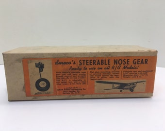 Cool vintage dmeco steerable nose gear