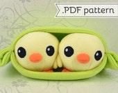 Chick Peas Plush .pdf Sewing Pattern