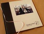 Custom Wedding Photo Booth Album / Scrapbook. Wedding Guest Book Album. You Design the Cover. 10 x 10""