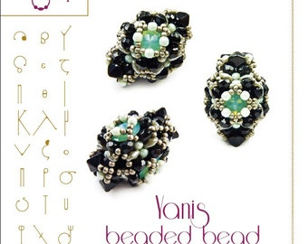 Beading pattern Yanis Beaded Bead Pattern - PDF instruction for personal use only