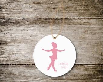 Ballerina Christmas Ornament, Dancer Ornament, Ornament for Ballerina, Ornament for Dancer, Ballerina Gift, Gift for Dancer, Christmas