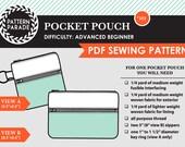 Pocket Pouch – PDF Sewing Pattern