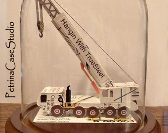 Truck with Crane Boom 5 Wheeler with Hook Design #1344 -Made in USA