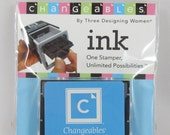 Changeables by Three Designing Women Ink Pad Cartridge - Clear Skies Blue - RS004