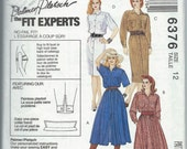 McCall's 6376 - Misses' Dresses - Size 12 - Uncut Vintage Pattern