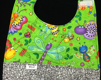 Reversible 4 way Bug Bib