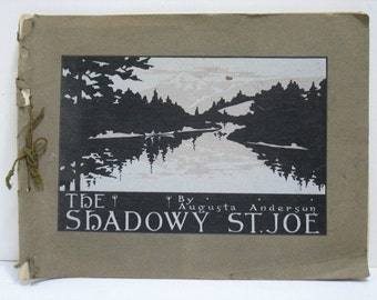 The Shadowy St. Joe Augusta Anderson Photo Album Book Idaho ca: 1910