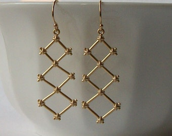 Trellis Dangle Earrings