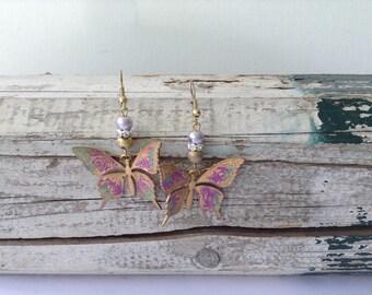 Pretty Butterfly Earrings